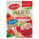 Delecta Galaretka deserowa smak truskawki i maliny 61 g