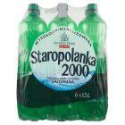Staropolanka 2000 Naturalna woda mineralna wysokozmineralizowana gazowana 6 x 1,5 l