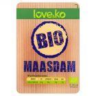 Love&ko Bio Maasdam Ser w plastrach 100 g
