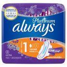 Always Platinum Ultra Normal+ Podpaski ze skrzydełkami x 8