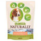 IAMS Naturally Bogaty w północnoatlantyckiego łososia i ryż Karma dla dorosłych psów 800 g