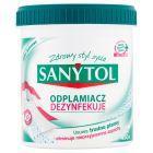 Sanytol Odplamiacz dezynfekujący białe i kolorowe tkaniny 450 g