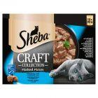 Sheba Craft Collection Karma pełnoporcjowa smaki rybne w sosie 1,02 kg (12 x 85 g)