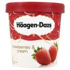 Häagen-Dazs Strawberries & Cream Lody 500 ml