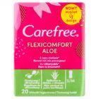 Carefree FlexiComfort Aloe Extract Wkładki higieniczne 20 sztuk