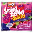 nimm2 Śmiejżelki Sokki Słodki Sad Żelki owocowe wzbogacone witaminami 90 g