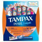 Tampax Pearl Compak Super Plus Tampony z aplikatorem, 18 sztuk