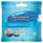 Wilkinson Sword Essentials 2 Jednorazowe maszynki do golenia 5 sztuk