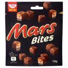 Mars Bites Batoniki z nugatowym nadzieniem oblane karmelem i czekoladą 136 g