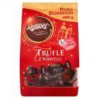 Wawel Trufle z Wawelu Cukierki o smaku rumowym w czekoladzie 400 g