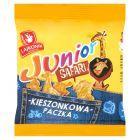Lajkonik Junior Safari Drobne pieczywo o smaku waniliowym 25 g