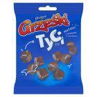 Grześki Tyci Mini wafelki z kremem o smaku kakaowym w czekoladzie 140 g