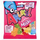 AKUKU! Charakterne Miśki Żelki o obniżonej zawartości cukrów 90 g