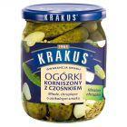 Krakus Ogórki korniszony z czosnkiem 500 g