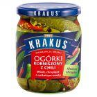 Krakus Ogórki korniszony z chili 500 g