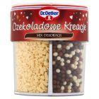 Dr. Oetker Czekoladowe Kreacje Mix dekoracji cukrowo-czekoladowych 71 g