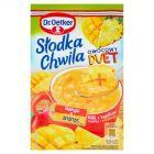 Dr. Oetker Słodka Chwila Owocowy Duet Mango & Ananas Kisiel z kawałkami owoców 32 g
