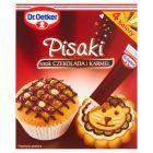 Dr. Oetker Pisaki smak czekolada i karmel 76 g (4 tubki)