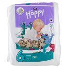 Bella Baby Happy Pieluszki jednorazowe 6 junior extra 16+ kg 38 sztuk