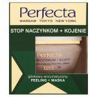 Perfecta Stop naczynkom + Kojenie Glinkowy enzymatyczny peeling + maska 55 g