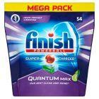 Finish Quantum Max Kapsułki do mycia naczyń w zmywarkach jabłko 837 g (54 sztuki)