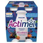 Danone Actimel Mleko fermentowane o smaku rokitnik-czarna porzeczka-acai 400 g (4 x 100 g)