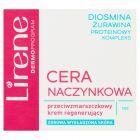 Lirene Cera Naczynkowa Przeciwzmarszczkowy krem regenerujący na noc 50 ml