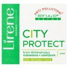 Lirene City Protect Krem detoksykujący matowienie + nawilżenie na dzień 50 ml