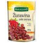 Bakalland Żurawina całe owoce 100 g