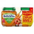 BoboVita Jabłka z marchewką po 4 miesiącu 2 x 125 g