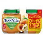 BoboVita Brzoskwinie jabłka i banany po 5 miesiącu 2 x 125 g