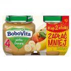 BoboVita Jabłka i banany po 4 miesiącu 2 x 125 g