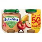 BoboVita Jabłka i gruszki Williamsa po 4 miesiącu 2 x 125 g