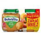 BoboVita Jabłka i morele po 5 miesiącu 2 x 125 g