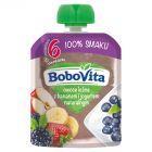 BoboVita Owoce leśne z bananem i jogurtem naturalnym po 6 miesiącu 80 g
