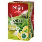 Posti Zielona z cytryną Herbata aromatyzowana 36 g (20 torebek)