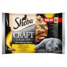 Sheba Craft Collection Karma pełnoporcjowa smaki drobiowe w sosie 340 g (4 x 85 g)