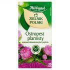 Herbapol Zielnik Polski Ostropest plamisty Herbatka ziołowa 40 g (20 x 2 g)