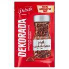 Delecta Decorada Płatki czekoladowe 40 g