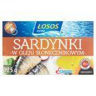 Łosoś Ustka Sardynki w oleju słonecznikowym 125 g