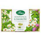 Bifix Kompozycja 6 herbatek ziołowych 105 g (60 saszetek)