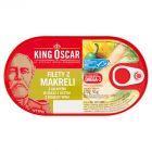 King Oscar Filety z makreli z Jalapeńo w oleju z octem z białego wina 170 g