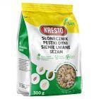 KRESTO Słonecznik pestki dyni siemię lniane sezam 300 g