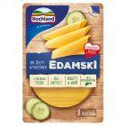 Hochland Edamski Ser żółty w plastrach 135 g (8 plastrów)