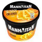 Manhattan Classic Lody z serkiem twarogowym i lody pomarańczowe 1400 ml