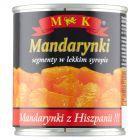 MK Mandarynki segmenty w lekkim syropie 312 g