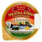 MK Sałatka rybna z warzywami z łososia 150 g