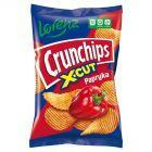 Crunchips X-Cut Chipsy ziemniaczane o smaku papryka 140 g