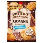 Wiejskie Ziemniaczki Ciosane Chipsy ziemniaczane o smaku soli z pieprzem 110 g