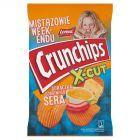 Crunchips X-Cut Chipsy ziemniaczane grubo krojone o smaku ostrego sosu serowego 140 g